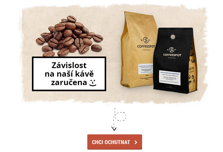 Cofeespot -  čerstvě pražená káva