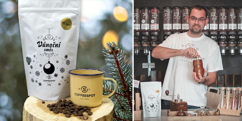 Zrnková káva jako vánoční dárek