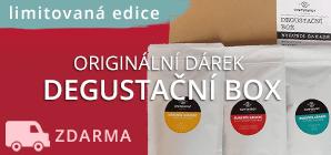 degustační box kávy