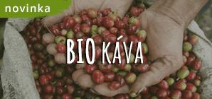 bio káva zrnková