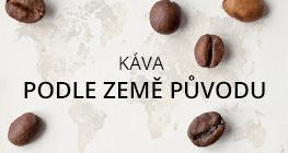 káva podle země původu